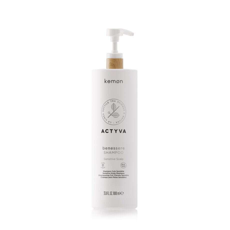 Actyva benessere shampoo 1000 ml Velian
